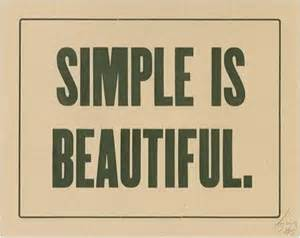 Simple Is Beautiful. Go For Simple & Elegant Website Design